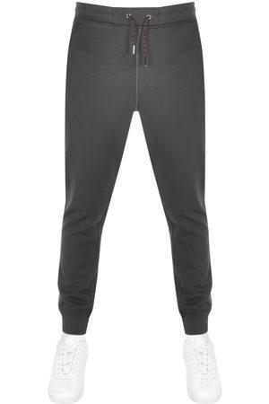 Luke 1977 Men Sports Pants - 1977 Charged Core Jogging Bottoms Grey