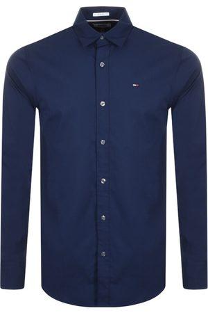 Tommy Hilfiger Men Long sleeves - Long Sleeved Shirt Navy