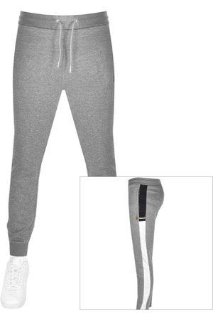 Luke 1977 Men Sports Pants - 1977 Lashing Sport Taped Jogging Bottoms Grey