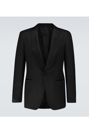Tom Ford Exclusive to Mytheresa – Shelton cotton and silk cocktail blazer
