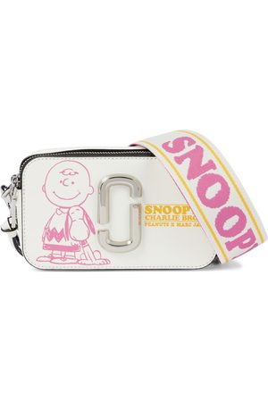 The Marc Jacobs X Peanuts The Snapshot leather shoulder bag