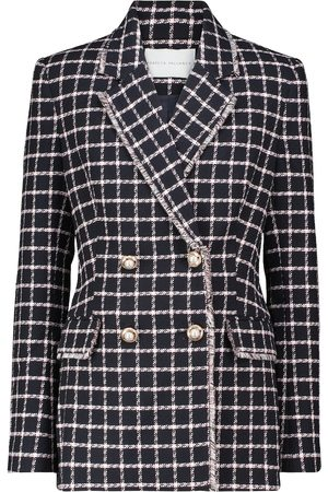 Rebecca Vallance Cory checked cotton-blend blazer