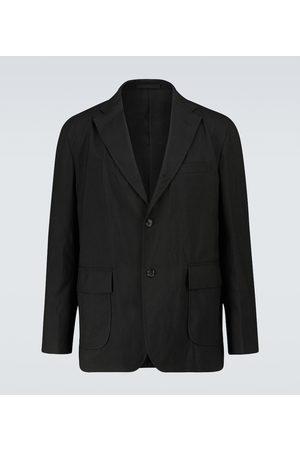 Comme des Garçons Single-breasted wool-blend blazer
