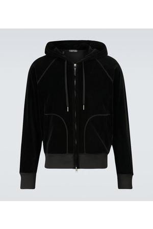 Tom Ford Hooded velour sweatshirt