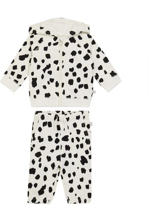 Stella McCartney Dalmatian fleece tracksuit