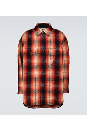 Lanvin Checked wool shirt