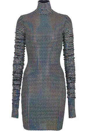 Dolce & Gabbana Sequined bodycon minidress