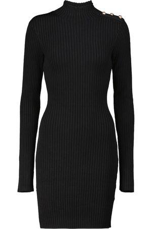 Rebecca Vallance Danica ribbed-knit minidress