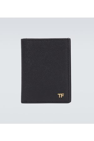 Tom Ford Exclusive to Mytheresa – folded leather cardholder