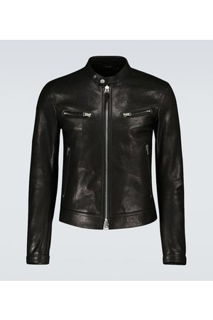 Tom Ford Exclusive to Mytheresa – leather biker jacket