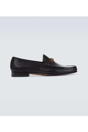 Tom Ford Exclusive to Mytheresa – leather York Chain loafers