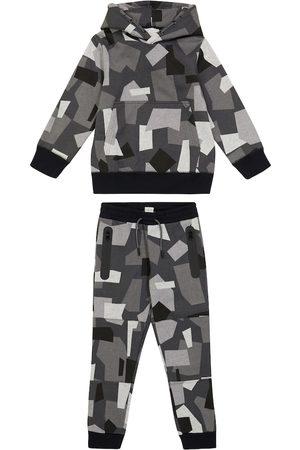 STELLA McCARTNEY Kids Geometric camouflage tracksuit