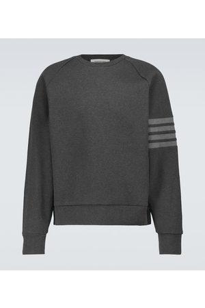 Thom Browne 4-Bar waffle cotton sweatshirt