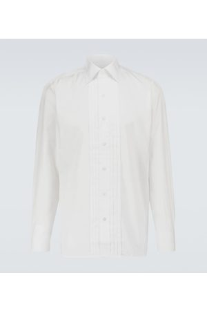 Tom Ford Exclusive to Mytheresa – slim-fit cotton plissé shirt