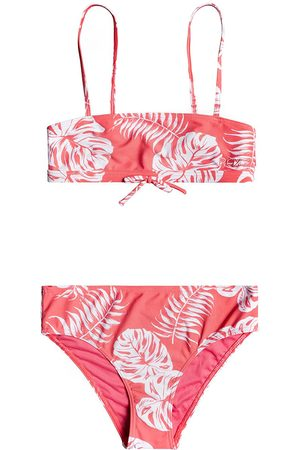 Roxy Cali Friend Girls Bikini - Desert Rose Pure Bico