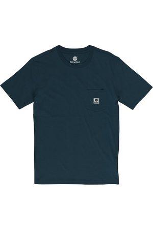 Element Basic Pocket Label s Short Sleeve T-Shirt - Eclipse Navy