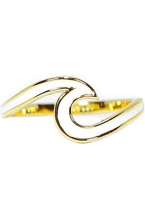 Pura Vida Enameled Wave s Ring