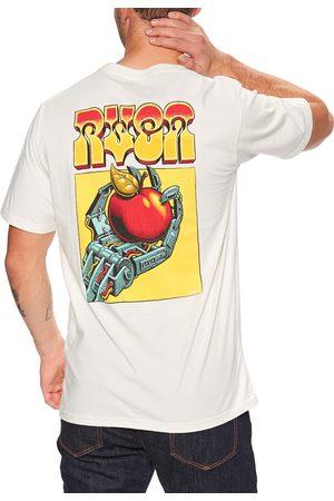 RVCA Applerobot s Short Sleeve T-Shirt - Antique