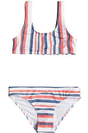 Roxy Surf Feel Girls Bikini - Desert Rose Good Summer