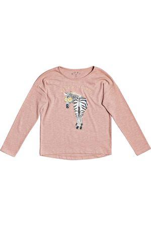 Roxy Only Time B Girls Long Sleeve T-Shirt - Ash Rose