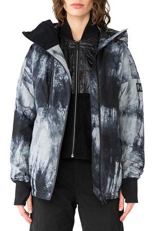 Holden Asym Alpine s Snow Jacket - Tie-dye