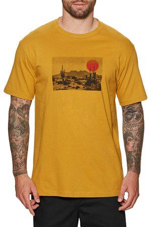 Brixton Barren Standard s Short Sleeve T-Shirt - Antique