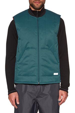 adidas Workwear Vest s Jacket - Viridian Power Noble Indigo