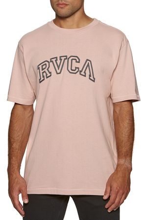 RVCA Teamster s Short Sleeve T-Shirt - Pale Mauve