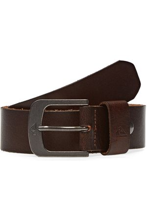 Quiksilver The Everydaily 3 s Leather Belt - Chocolate