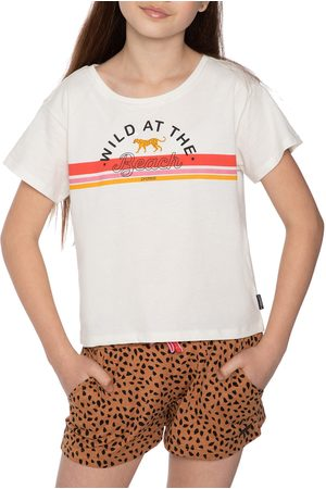 Protest Nina Girls Short Sleeve T-Shirt - Seashell