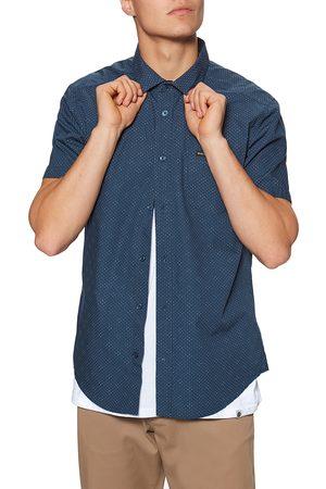 RVCA Carlo Dot s Short Sleeve Shirt - Moody