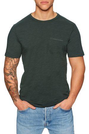 Roark Revival Well Worn Midweight Organic s Short Sleeve T-Shirt - Charcoal