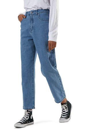 Afends Shelby Hemp Denim High Waist Wide Leg s Jeans - Classic