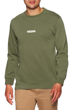 WAWWA Basic Logo s Long Sleeve T-Shirt - Khaki