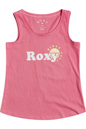 Roxy There Is Life Foil Girls Tank Vest - Desert Rose