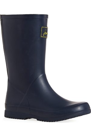 Joules Jnr Roll Up Boys Wellies - French Navy