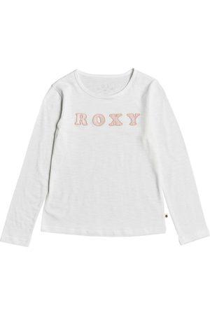 Roxy Bananas Party Girls Long Sleeve T-Shirt - Snow