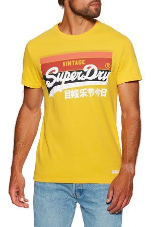 Superdry Vintage Cali Stripe s Short Sleeve T-Shirt - Utah