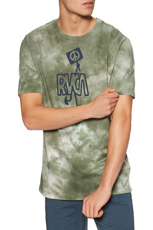 RVCA Peace Out s Short Sleeve T-Shirt