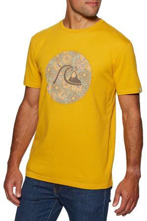 Quiksilver Jungle Boogie s Short Sleeve T-Shirt - Nugget