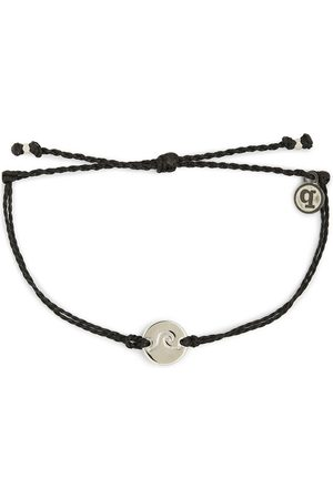 Pura Vida Wave Coin Bracelet