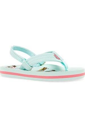 Reef Jonas Claesson Lil Ahi Girls Flip Flops - Friends