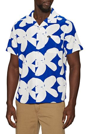 RVCA Bailey Elder s Short Sleeve Shirt - Floral