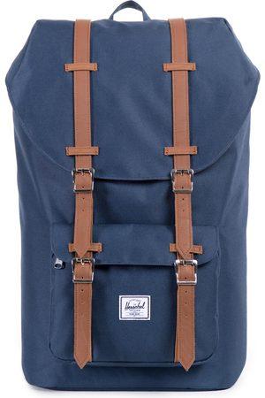 Herschel Supply Co. Herschel Little America s Backpack - Navy tan Synthetic Leather