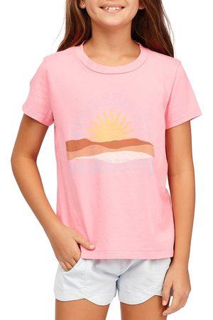 Billabong Day In Paradise Girls Short Sleeve T-Shirt - Coral