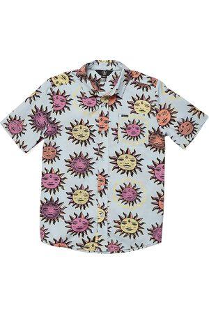 Volcom Ozzy Sun Boys Short Sleeve Shirt - Aether