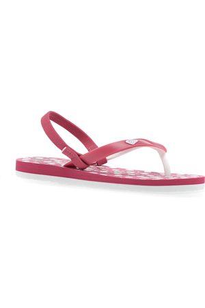 Roxy Tahiti Girls Flip Flops - Bright Rose