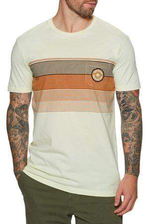 Quiksilver New Stripes s Short Sleeve T-Shirt - Antique