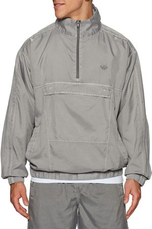 Adidas Skateboarding Adidas Garment Dyed Anorak s Windproof Jacket - Taupeoxid