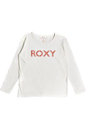 Roxy In The Sun Girls Long Sleeve T-Shirt - Snow